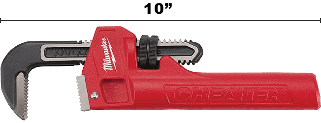Image of Milwaukee Cheater Pip Wrench Tool