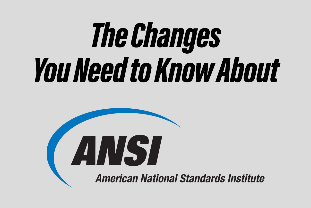 Changes to ANSI 105 You Need to Know About (2016)