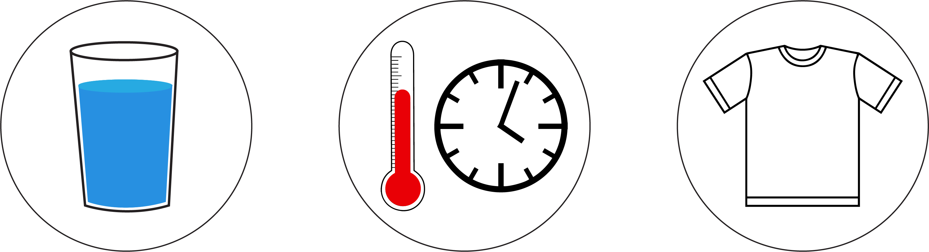 heat stress is caused by 3 factors: dehydration, improper acclimation to hot temperatures, and clothing choices