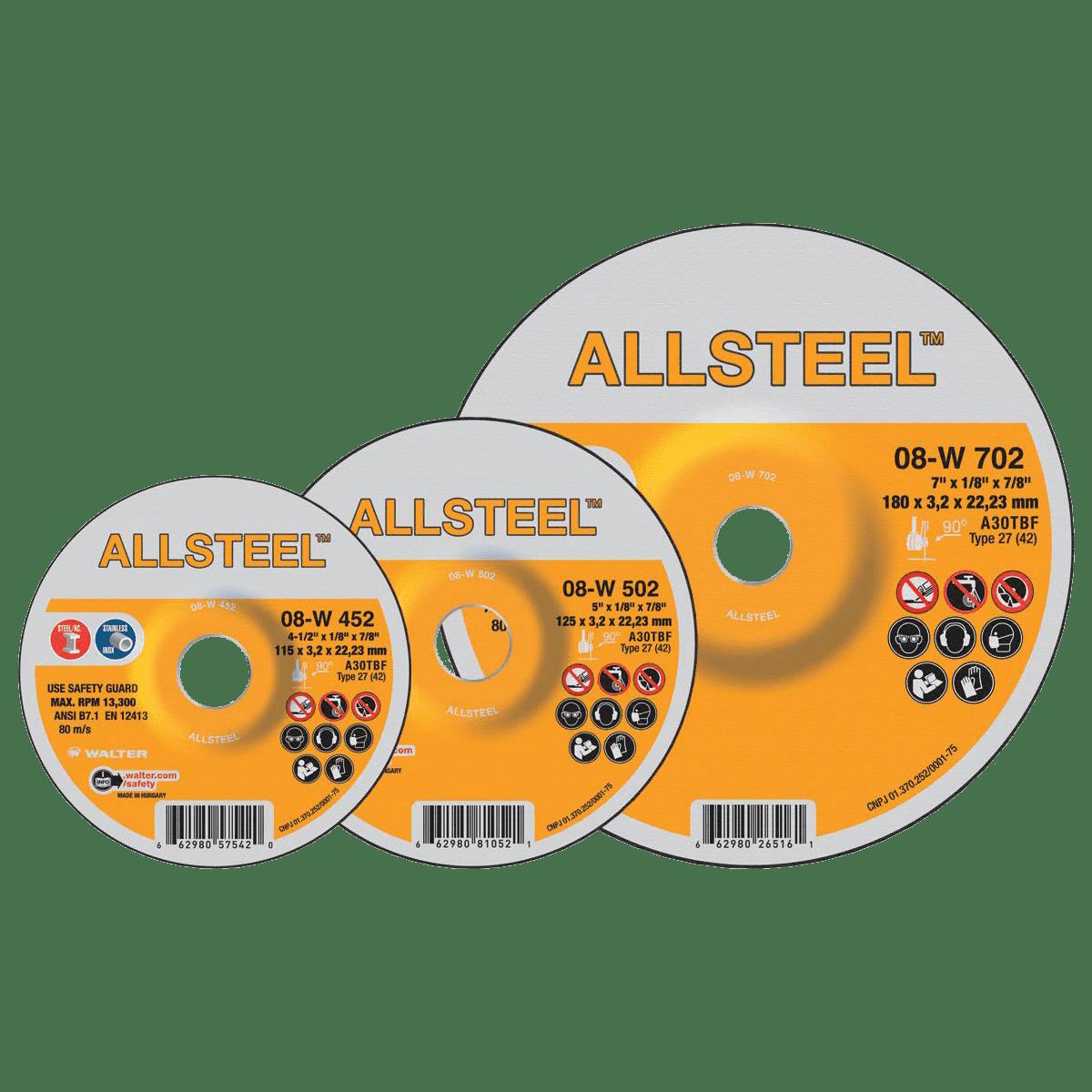 ALLSTEEL™ Grinding Wheels