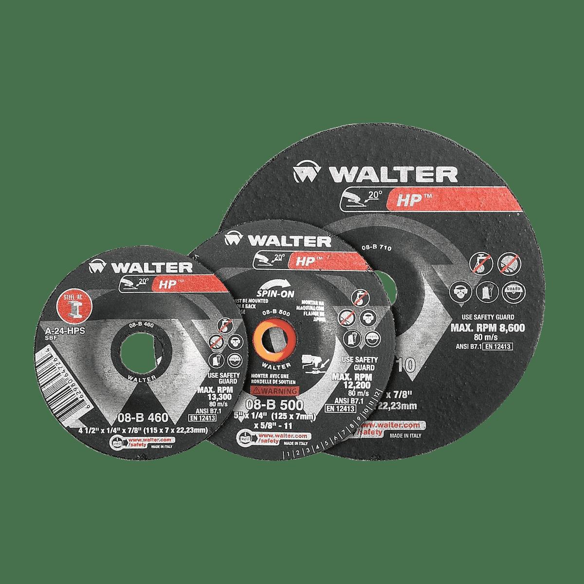 Walter HP™ Grinding Discs