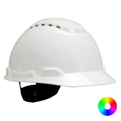 Picture of 3M 700 Series Type 1 Vented Hard Hat - Ratchet Suspension