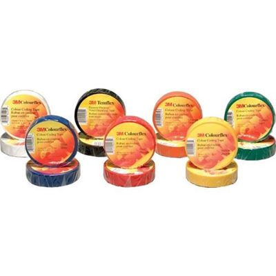 Picture of 3M™ COLOUR-FLEX Electrical Tape