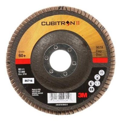 "Picture of 3M™ Cubitron II 5"" x 7/8"" Type 29 Flap Discs"