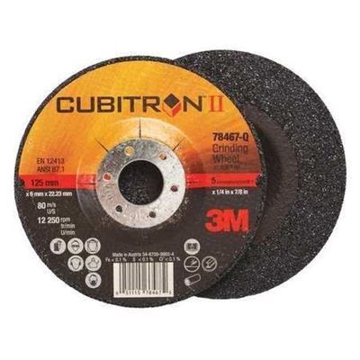 Picture of 3M™ Cubitron™ II Grinding Wheels – Type 27 (Depressed Centre)
