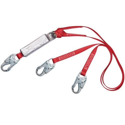 Picture of 3M™ Protecta® PRO™ Pack Tie-Off Double Leg E6 Shock-Absorbing Lanyards