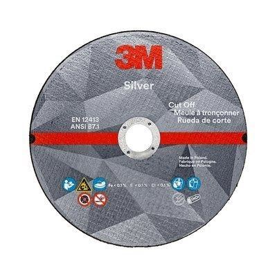 Picture of 3M Silver Cut-Off Wheel - Type 1 (Flat)