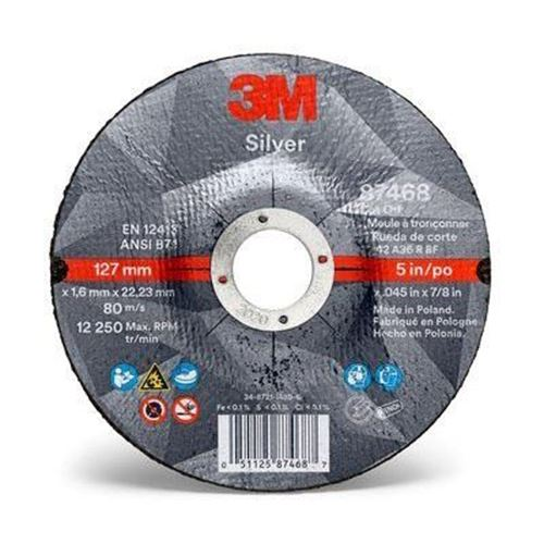 Picture of 3M™ Silver Cut-Off Wheel - Type 27 (Depressed Centre)