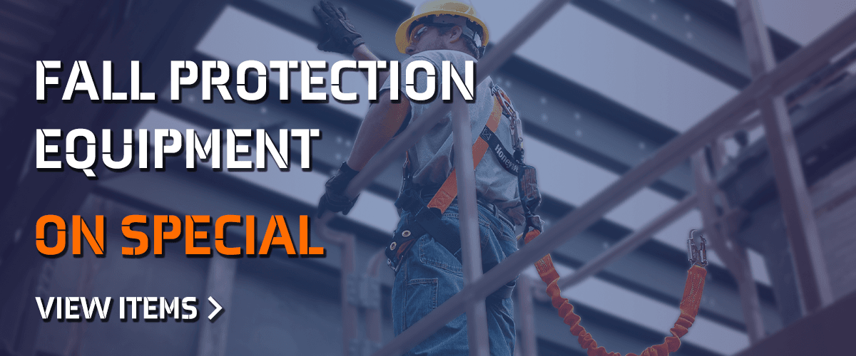 Special Prices on Fall Protection Equipment