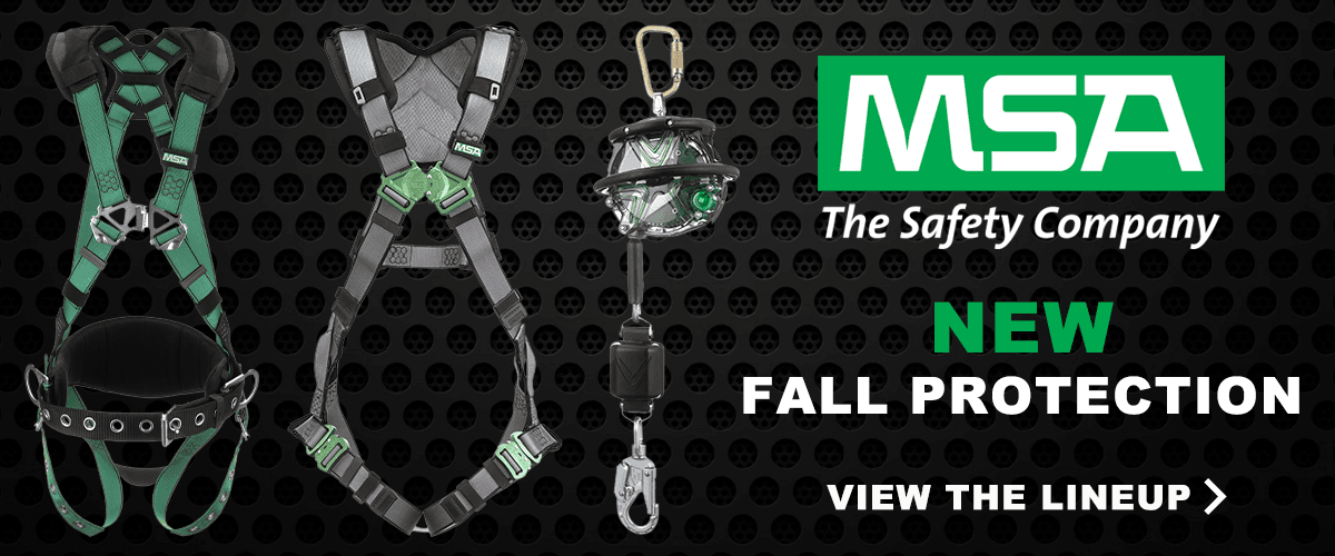 New MSA Fall Protection