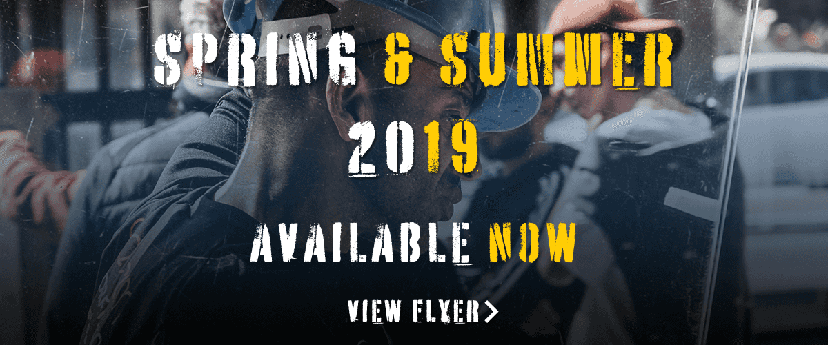 Spring & Summer 2019 Flyer Available