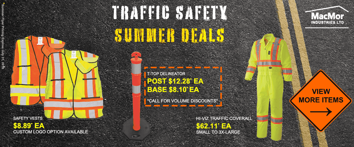 Traffic Safety Summer Specials