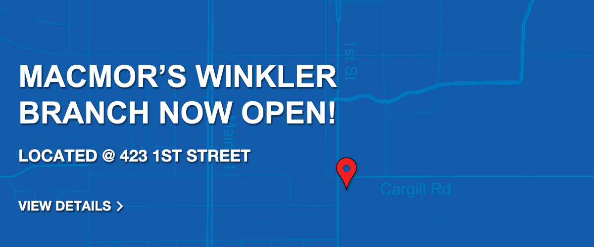 MacMor is Now in Winkler!