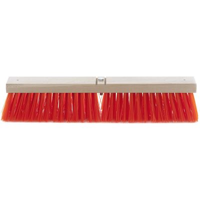 Picture of AGF Synthetic Coarse Sweep Safety Orange Push Broom Head