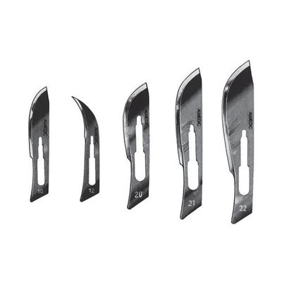 Picture of Almedic Sterile Stainless Steel A6 Scalpel Blades