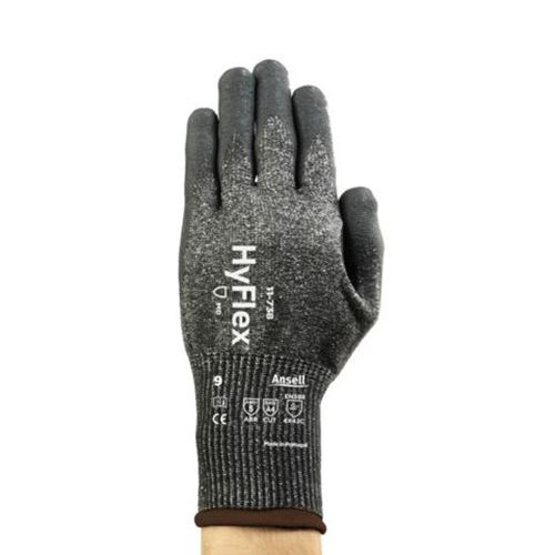 Picture of Ansell HyFlex® 11-738 Polyurethane Coated Cut Protection Glove with INTERCEPT™ - Size 10