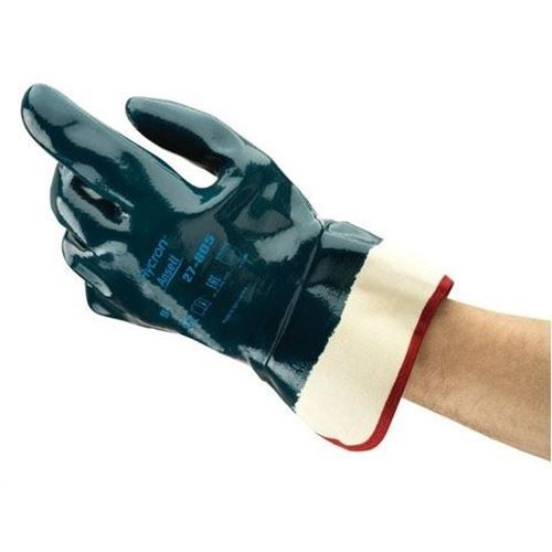 Picture of Ansell Hycron® 27-805 Heavy Duty Nitrile Coated Glove - Size 10