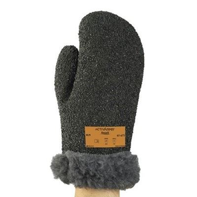 Picture of Ansell ActivArmr® Winter Gauntlet Mitts with PVC Rock Grip