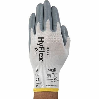 Picture of Ansell HyFlex® 11-800 Foam Nitrile Coated Light Duty Glove