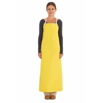 Picture of Ansell Reinforced Heavy Duty Yellow Neoprene Apron