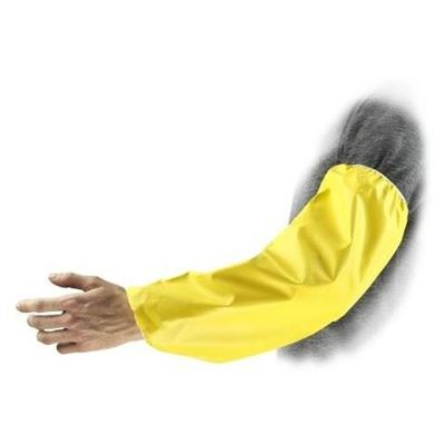 """Picture of Ansell Econo Yellow Neoprene Sleeve - 18"""" Length"""