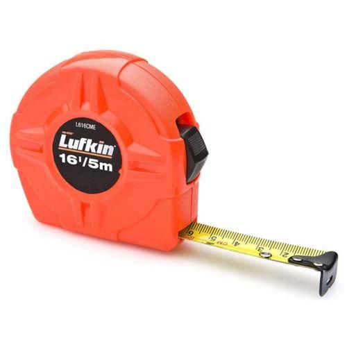 Picture of Lufkin® Hi-Viz® Orange SAE/Metric Tape Measure