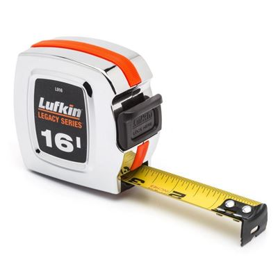 """Picture of Lufkin® 1"""" x 25' Chrome Legacy Series SAE Tape Measures"""