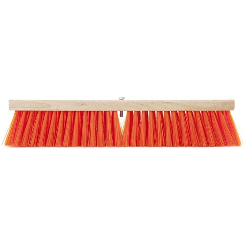 Picture of AGF Synthetic Medium Sweep Safety Orange Push Broom