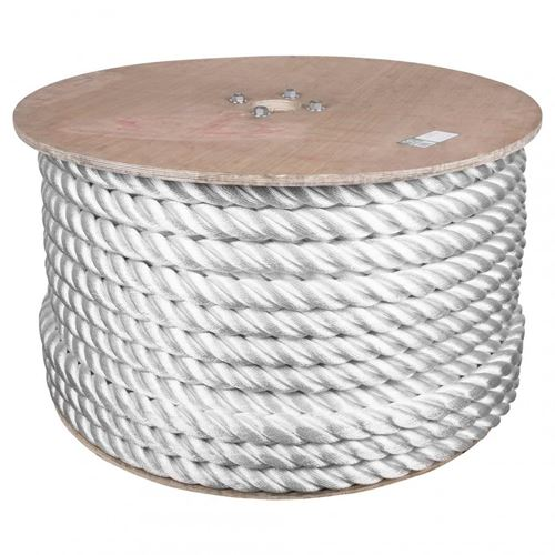 Picture of Barry&Boulerice® 3-Strand Twisted White Nylon Rope - Bulk