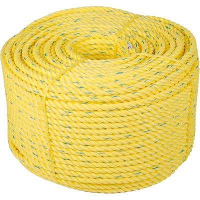 Picture of Barry&Boulerice® 3-Strand Twisted Yellow Polypropylene Rope - Bulk