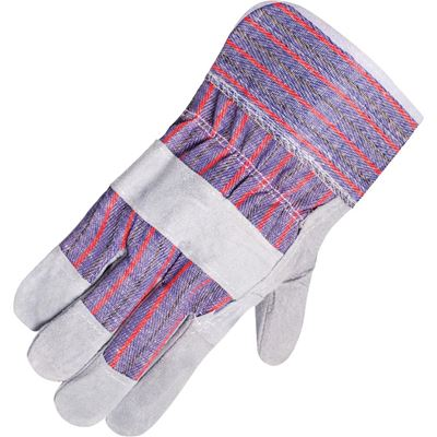 Picture of Horizon® Economy Cowsplit Leather Work Gloves - One Size