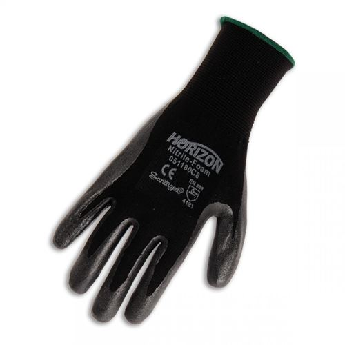 Picture of BBH Horizon™ Nitrile Foam Dipped Polyester Glove - Size 7