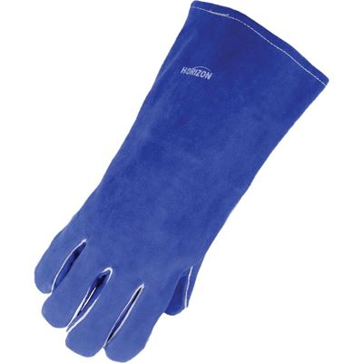 Picture of Horizon® Blue/Grey Cowsplit Welding Gloves - One Size