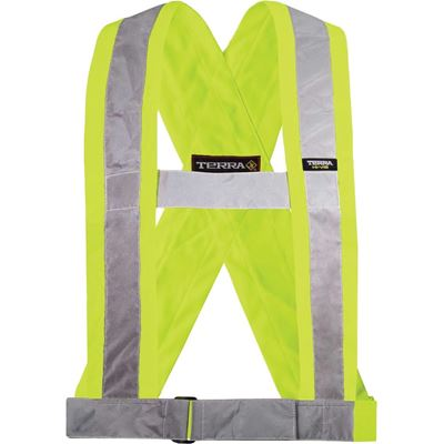 Picture of TERRA® Hi-Vis Yellow Safety Sash