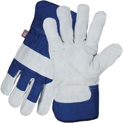 Picture of BBH Ladies Cowsplit Gloves with Acrylic Pile Lining - Small