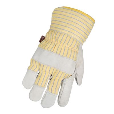 Picture of BBH Cowhide Patch Palm Gloves with Fleece Lining - One Size