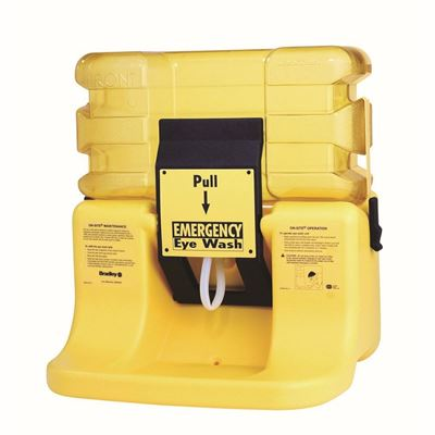 Picture of Bradley S19-921 On-Site Portable 7 Gallon Gravity-Fed Eyewash Station
