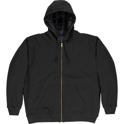 Picture of BERNE® SZ612BK Black Glacier Hooded Sweatshirt