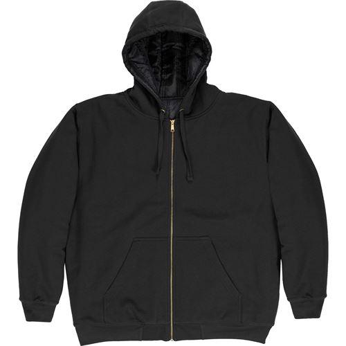Picture of BERNE® SZ612BK Black Glacier Hooded Sweatshirt