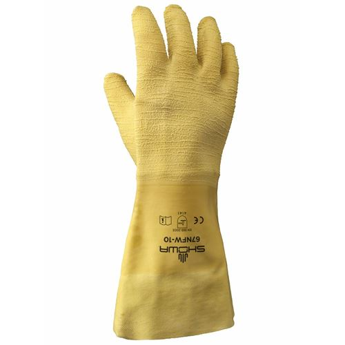 "Picture of Showa Best Nitty Gritty® 14"" Fully Coated Rubber Gloves"