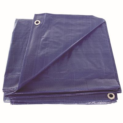 Picture of Blue Poly Tarps