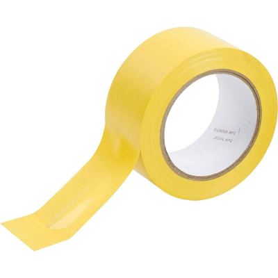 """Picture of Brady Yellow Aisle Marking Tape - 2"""" x 36 Yards"""