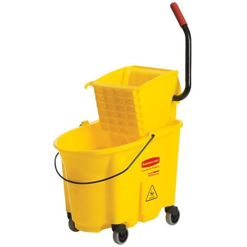 Picture of Rubbermaid® WaveBrake® 35 Qt High-Performance Sidepress Combo Bucket