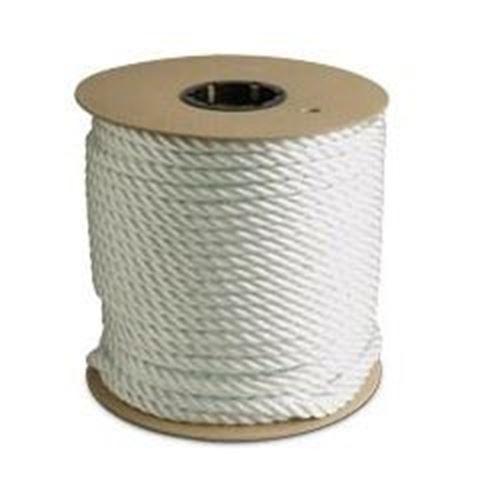Picture of Canada Cordage 3-Strand Twisted White Nylon Rope - Jumbo Reels