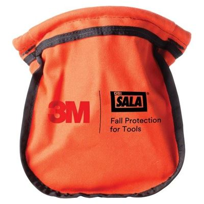 Picture of DBI-Sala® Orange Canvas Small Parts Pouch
