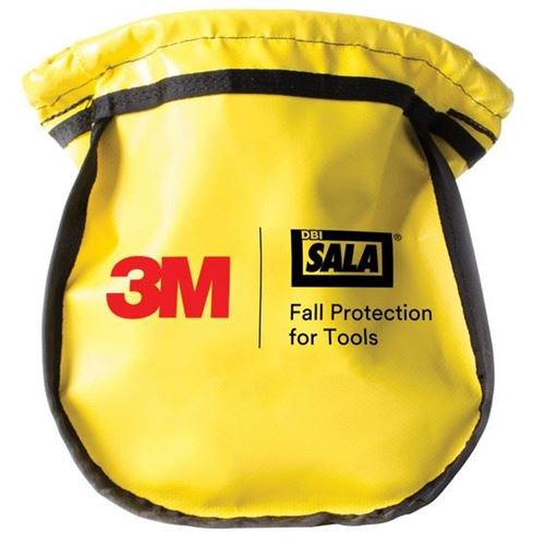 Picture of 3M™ DBI-Sala® Yellow Vinyl Small Parts Pouch