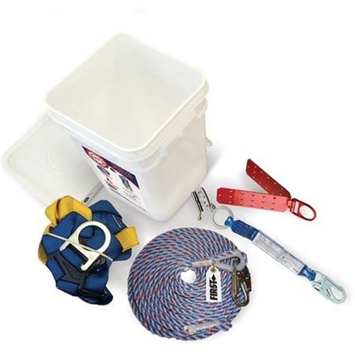 Picture of 3M Roofer's Kit with Tongue Buckle Harness