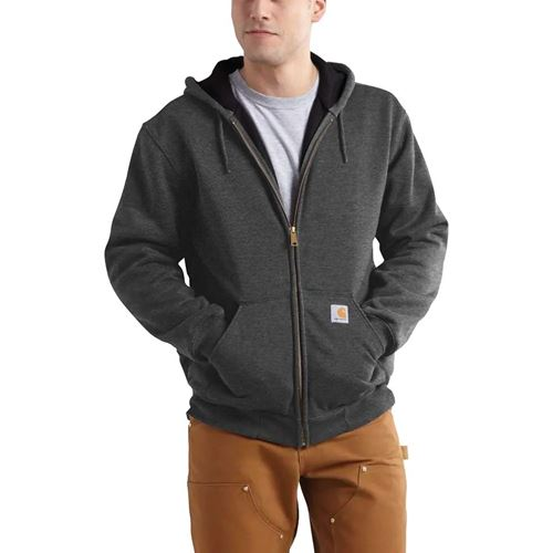 Picture of Carhartt Rain Defender® Carbon Heather Rutland Thermal-Lined Hoodie