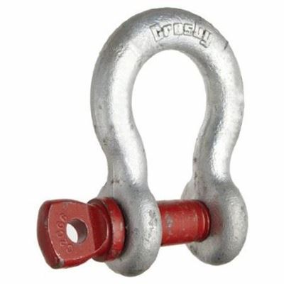 Picture of Crosby® G-209 Galvanized Screw Pin Anchor Shackles