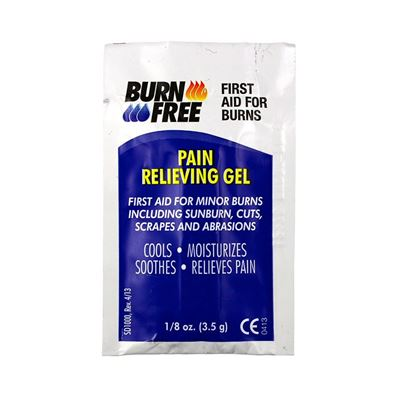 Picture of Burnfree Pain Relieving Gel Packs - 1/8 oz. (3.5g)